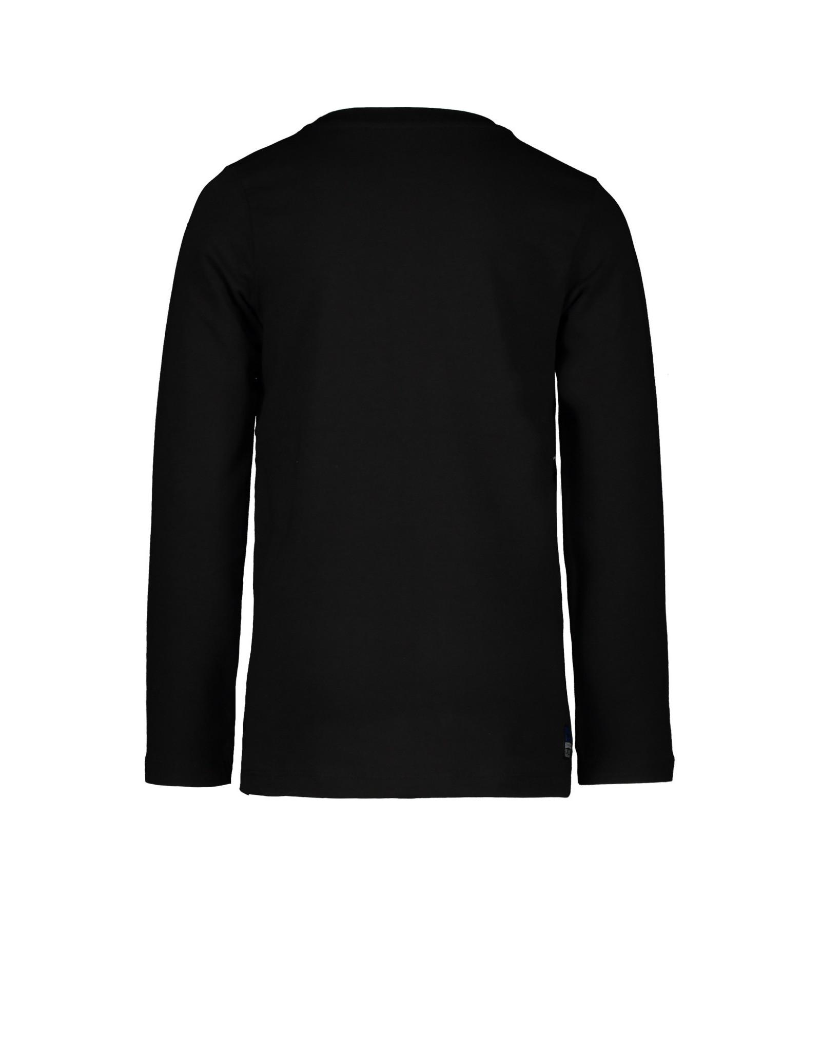 TYGO & vito TYGO & vito jongens shirt Glow in the Dark  Black