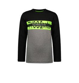 TYGO & vito TYGO & vito jongens shirt Colorblock Black
