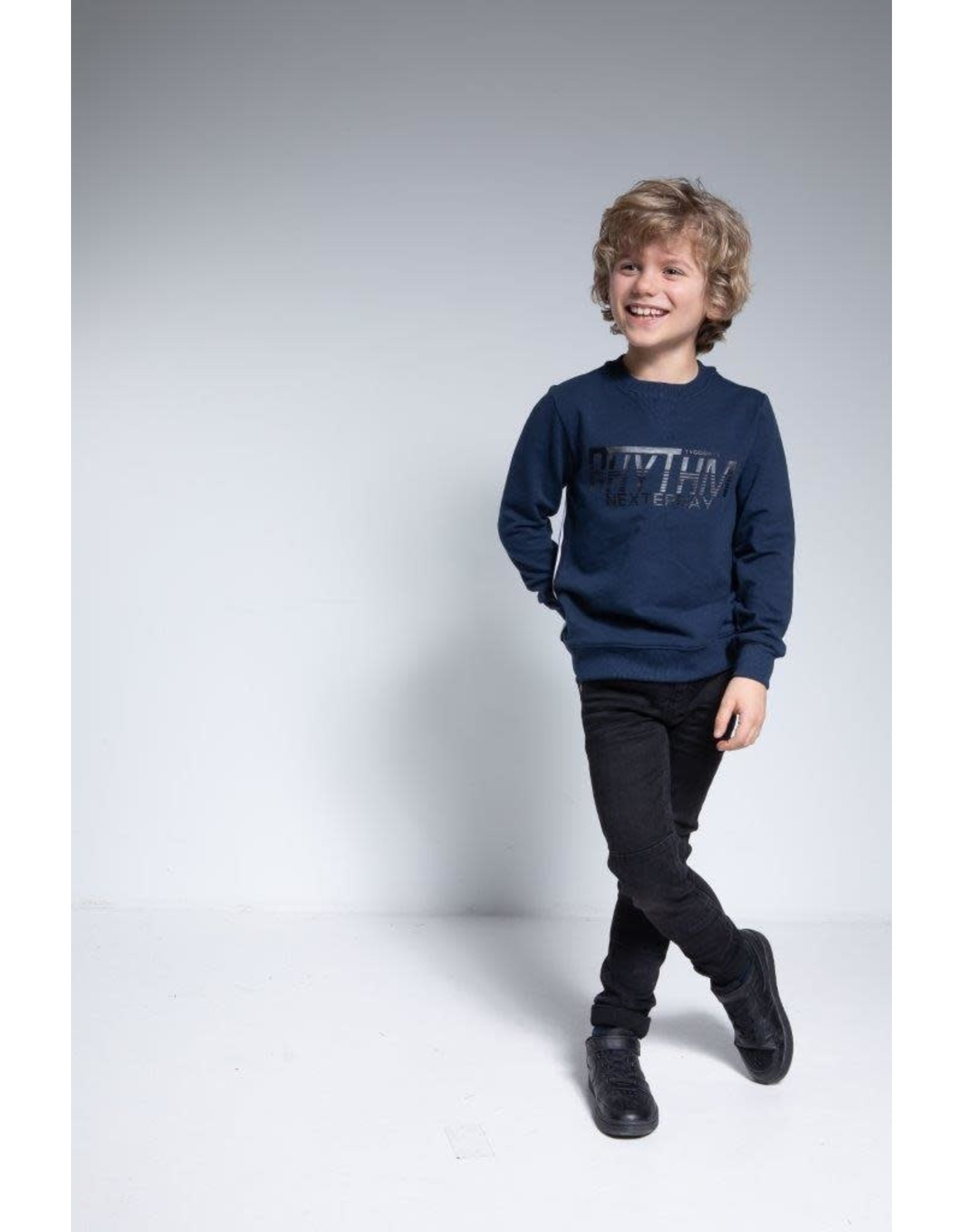 TYGO & vito TYGO & vito jongens sweater Rhythm Navy