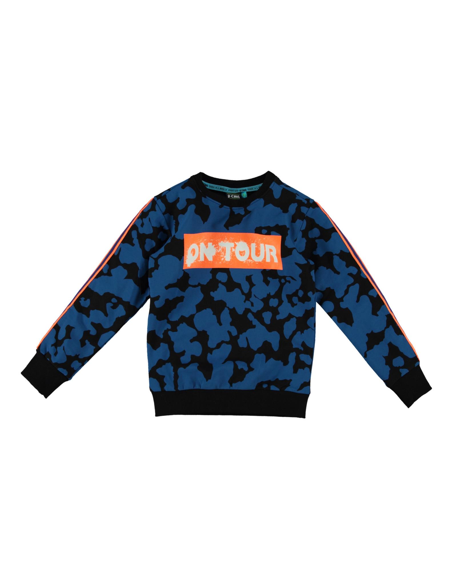 B'Chill B'Chill jongens sweater Marco Blue