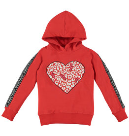 O'Chill O'Chill meiden hoodie Sylvie Red