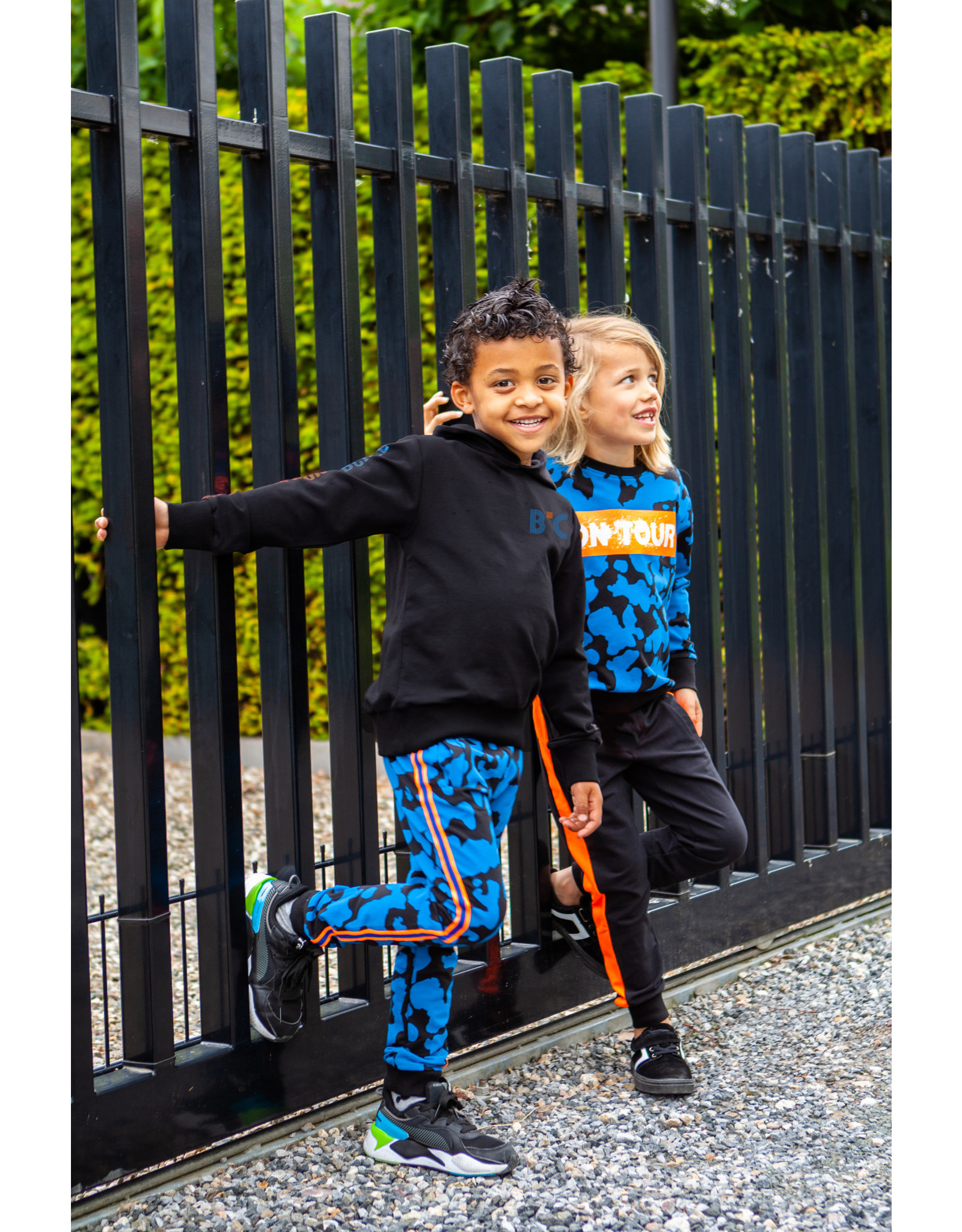 B'Chill B'Chill jongens joggingbroek Mylan Black