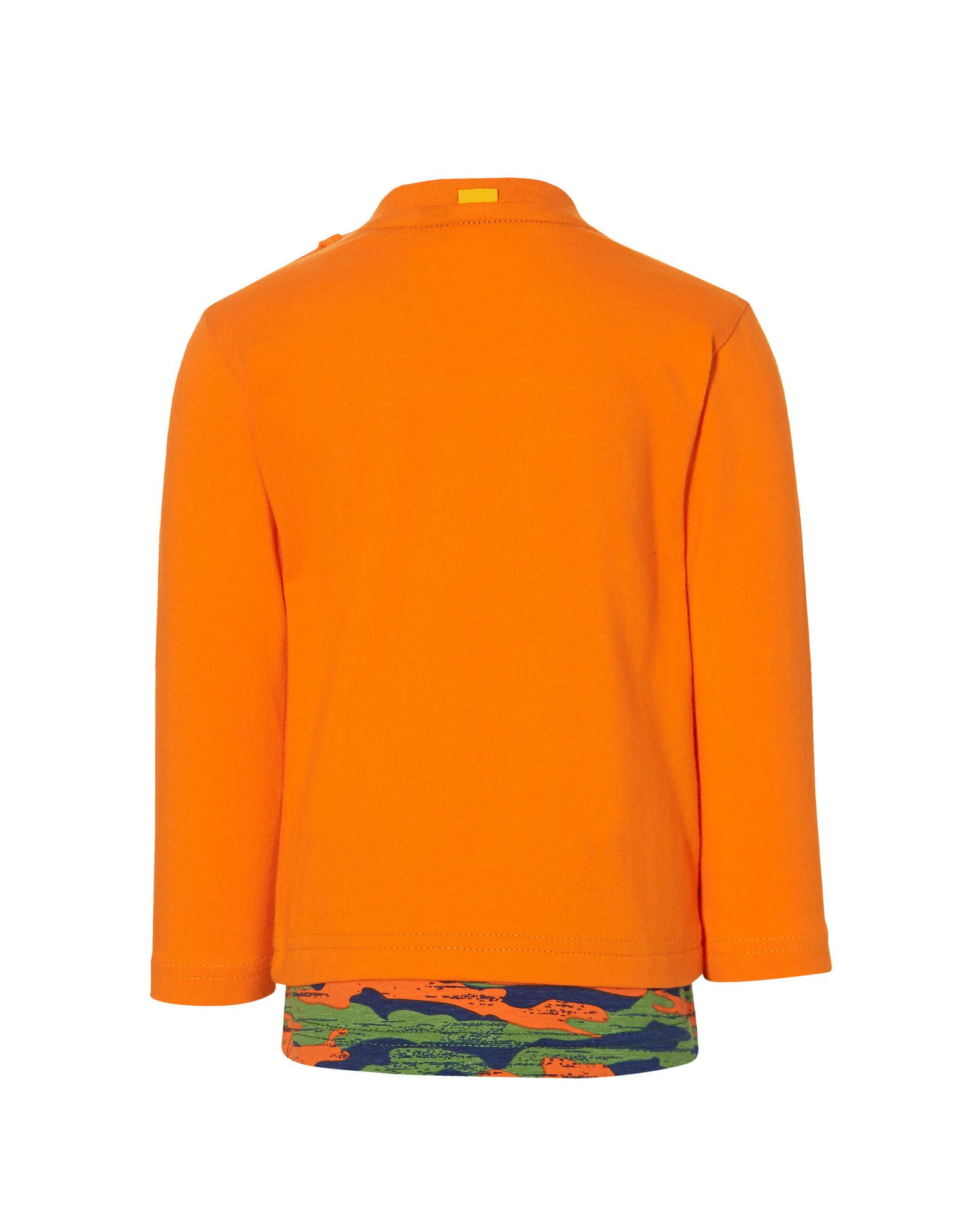 Quapi Quapi baby jongens shirt Epke Tiger Orange
