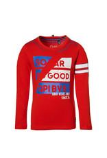 Quapi Quapi jongens shirt Daim Sporty Red