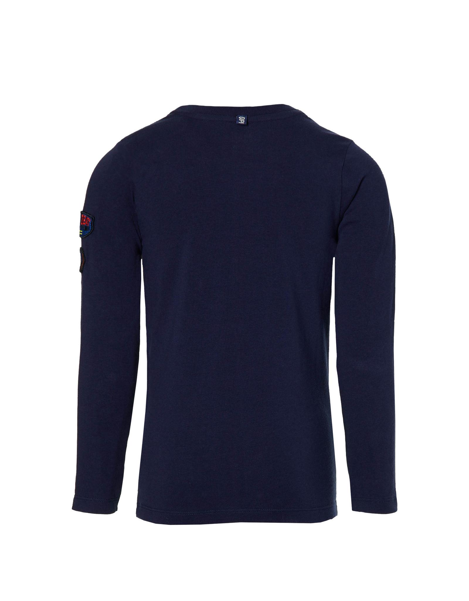 Quapi Quapi jongens shirt Dali Dark Blue