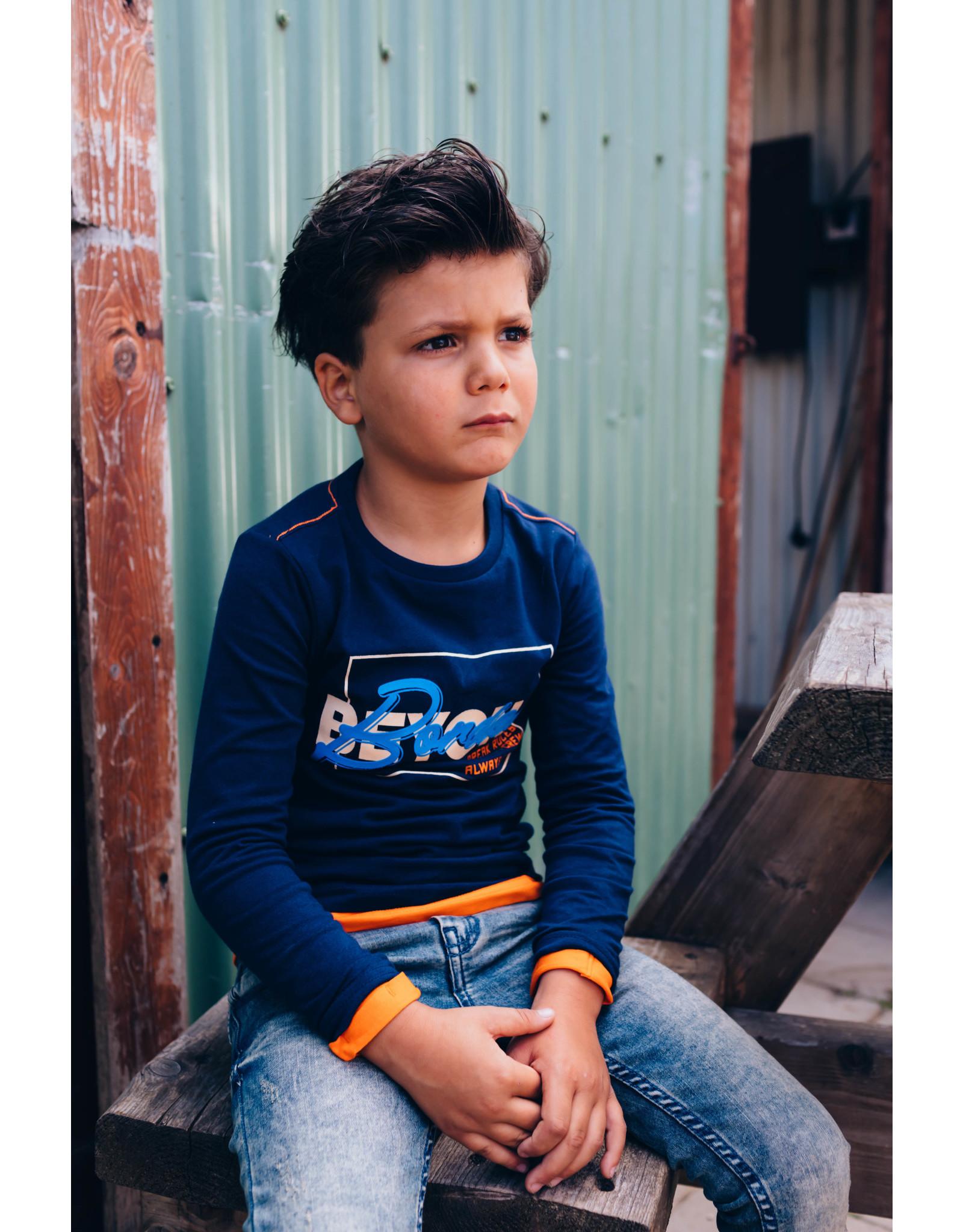 Quapi Quapi jongens shirt Dalmar Dark Blue