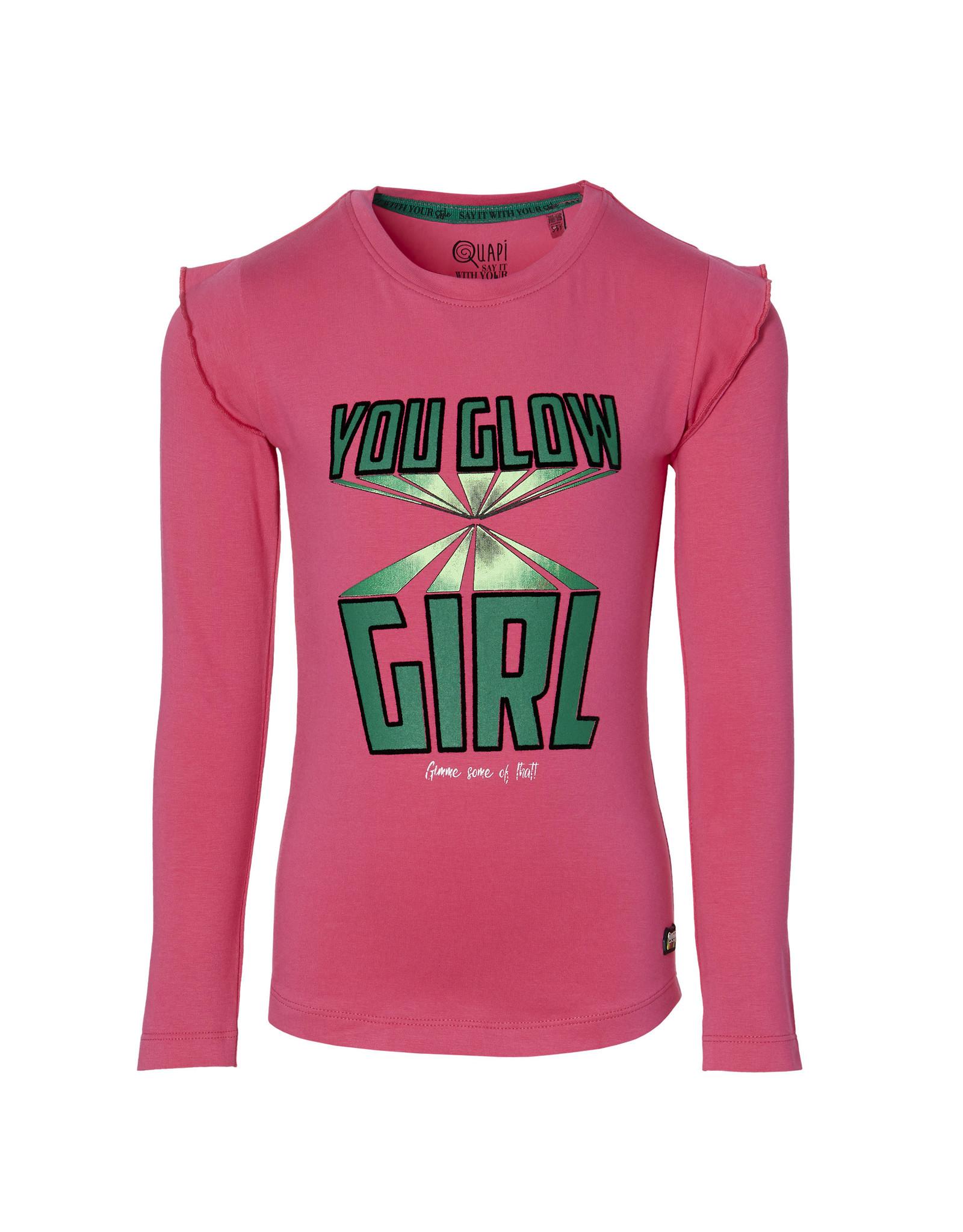 Quapi Quapi meisjes shirt Dani Pink
