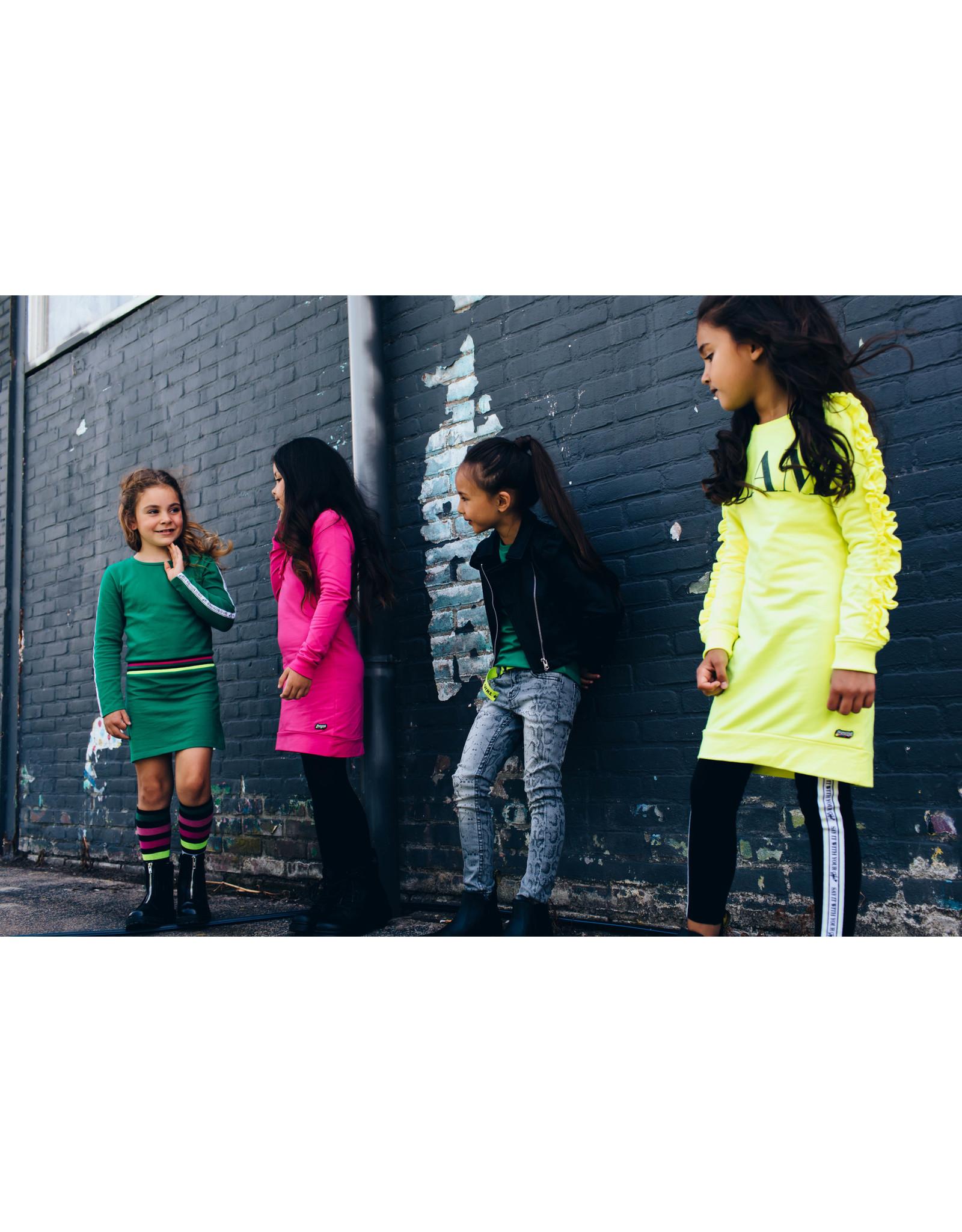 Quapi Quapi meisjes jurk Dafne Yellow