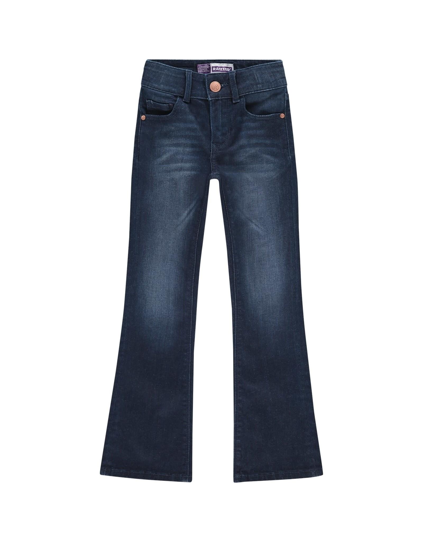 Raizzed Raizzed meiden flairpants jeans Melbourne Dark Blue Stone