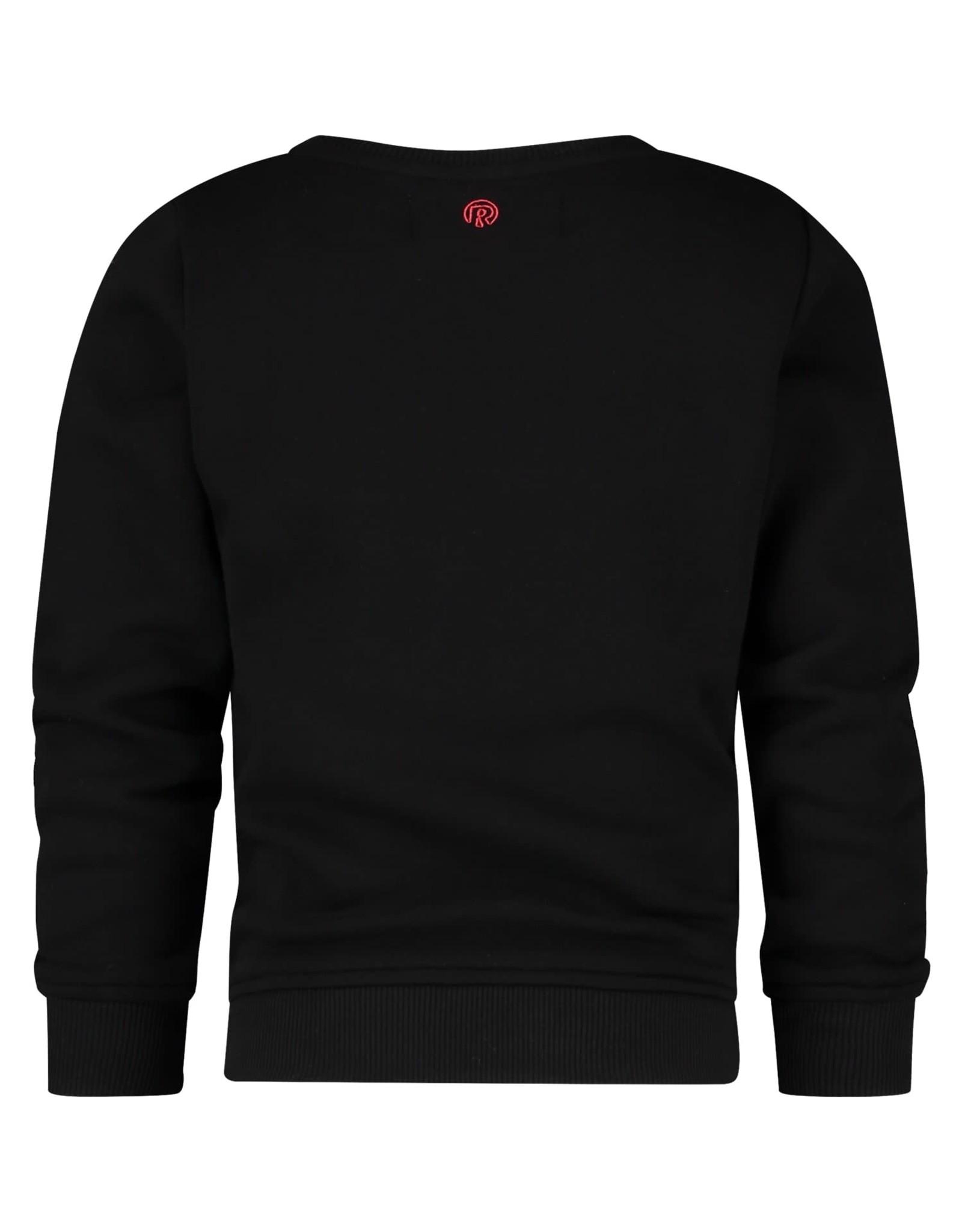 Raizzed Raizzed meiden sweater Valletta Deep Black