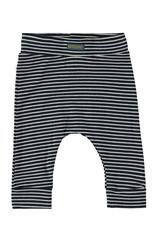 Bampidano Bampidano Newborn baby jongens joggingbroek Ayden Clouds Stripe Navy