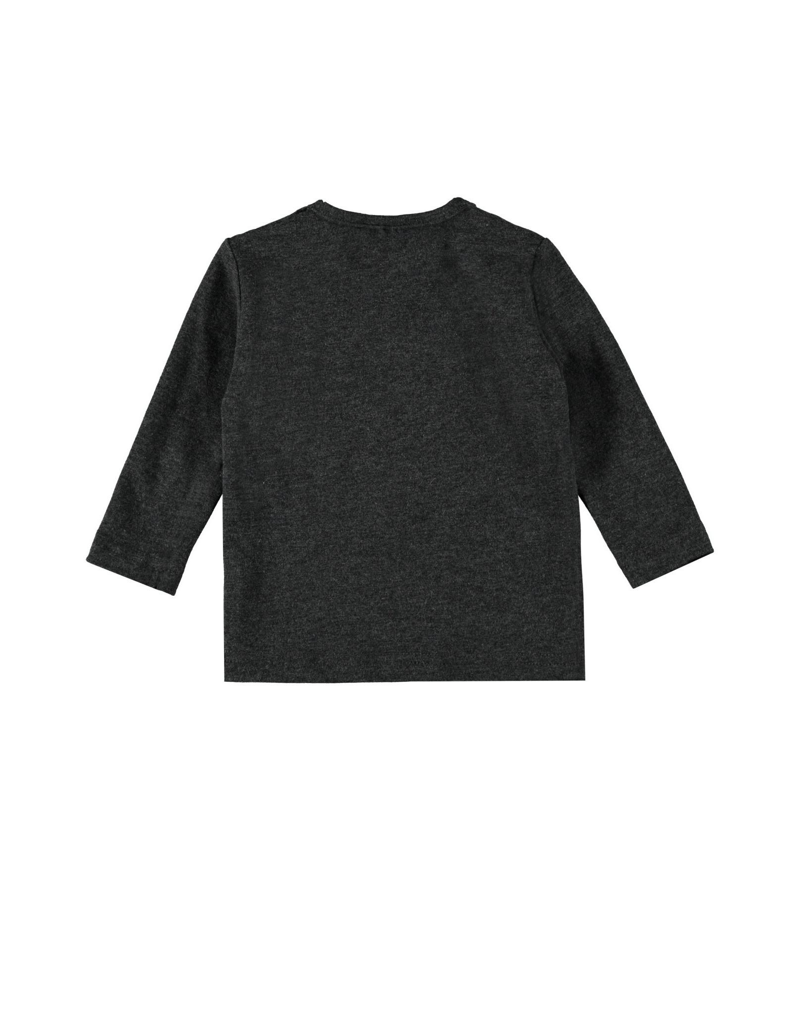 Bampidano Bampidano New Born jongens shirt Brandon Free Hugs Anthra Melee