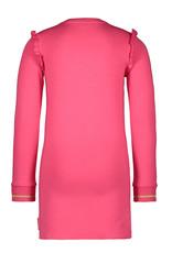 Bampidano Bampidano meisjes jurk Blos VOILA Dark Pink