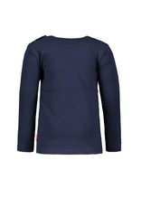 Bampidano Bampidano baby meisjes shirt Brigit SWEET Navy