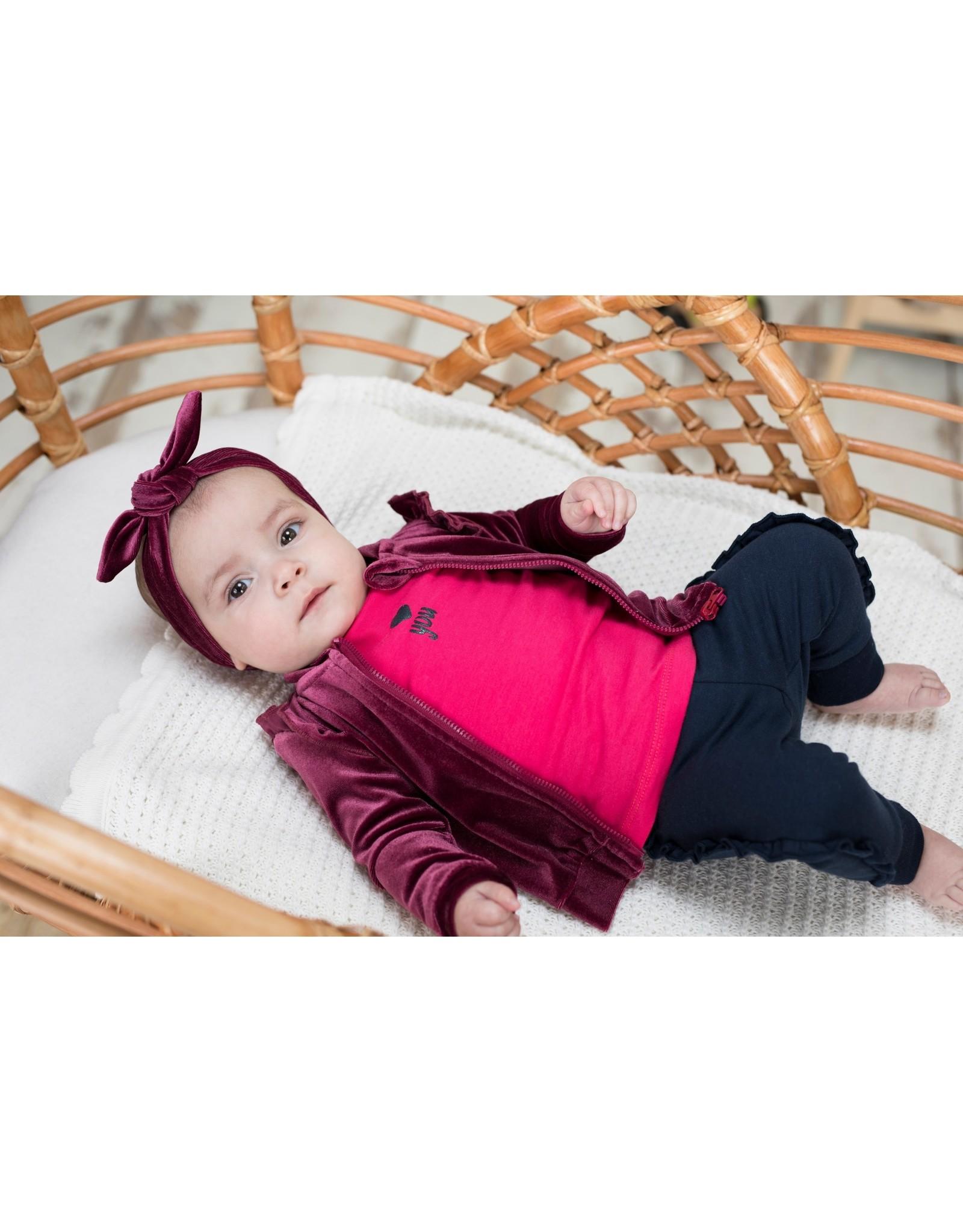 Bampidano Bampidano baby meisjes shirt Bowien SWEET Dark Pink