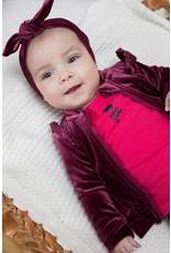 Bampidano Bampidano baby meisjes haarband Bloem SWEET Bordeaux