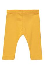 Bampidano Bampidano Newborn baby meisjes legging Billie FREE HUGS Ocre Yellow