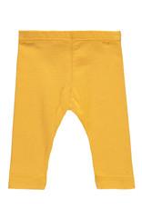 Bampidano Bampidano New Born baby meisjes legging Billie FREE HUGS Ocre Yellow