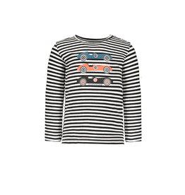 Bampidano Bampidano baby jongens shirt Chase TRAFFIC Anthra Stripe