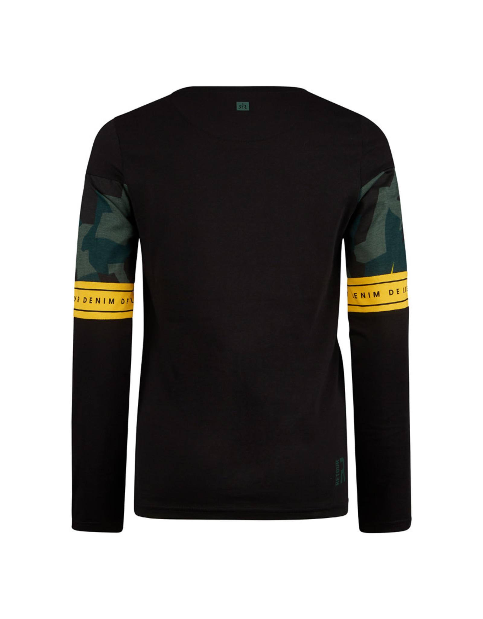 RETOUR Retour jongens shirt Jorn Black