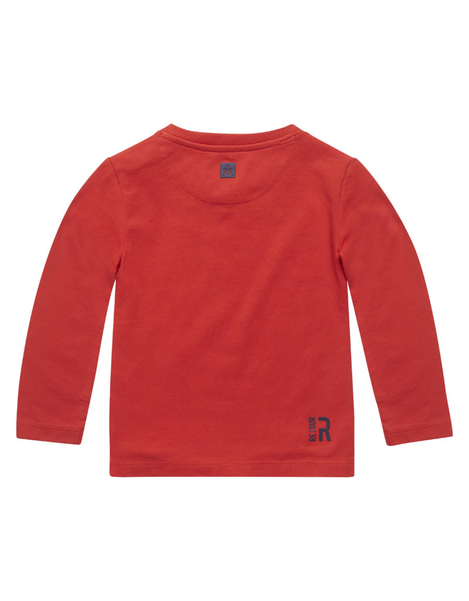 RETOUR Retour baby jongens shirt Sven Red