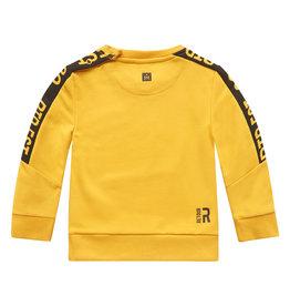 RETOUR Retour baby jongens sweater Luuk Yellow