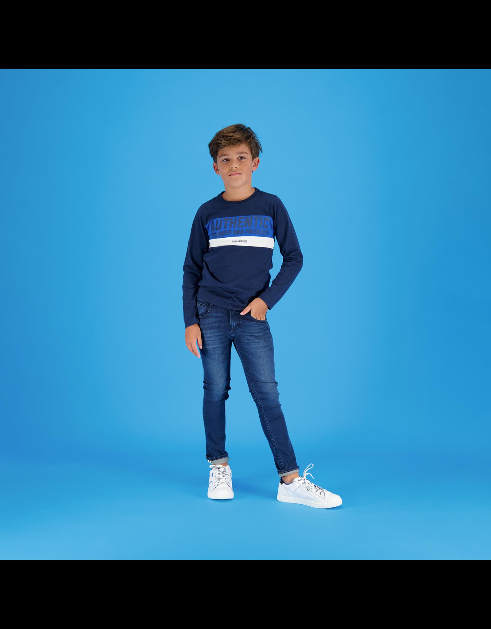 Vingino Vingino jongens shirt Hensor dark blue