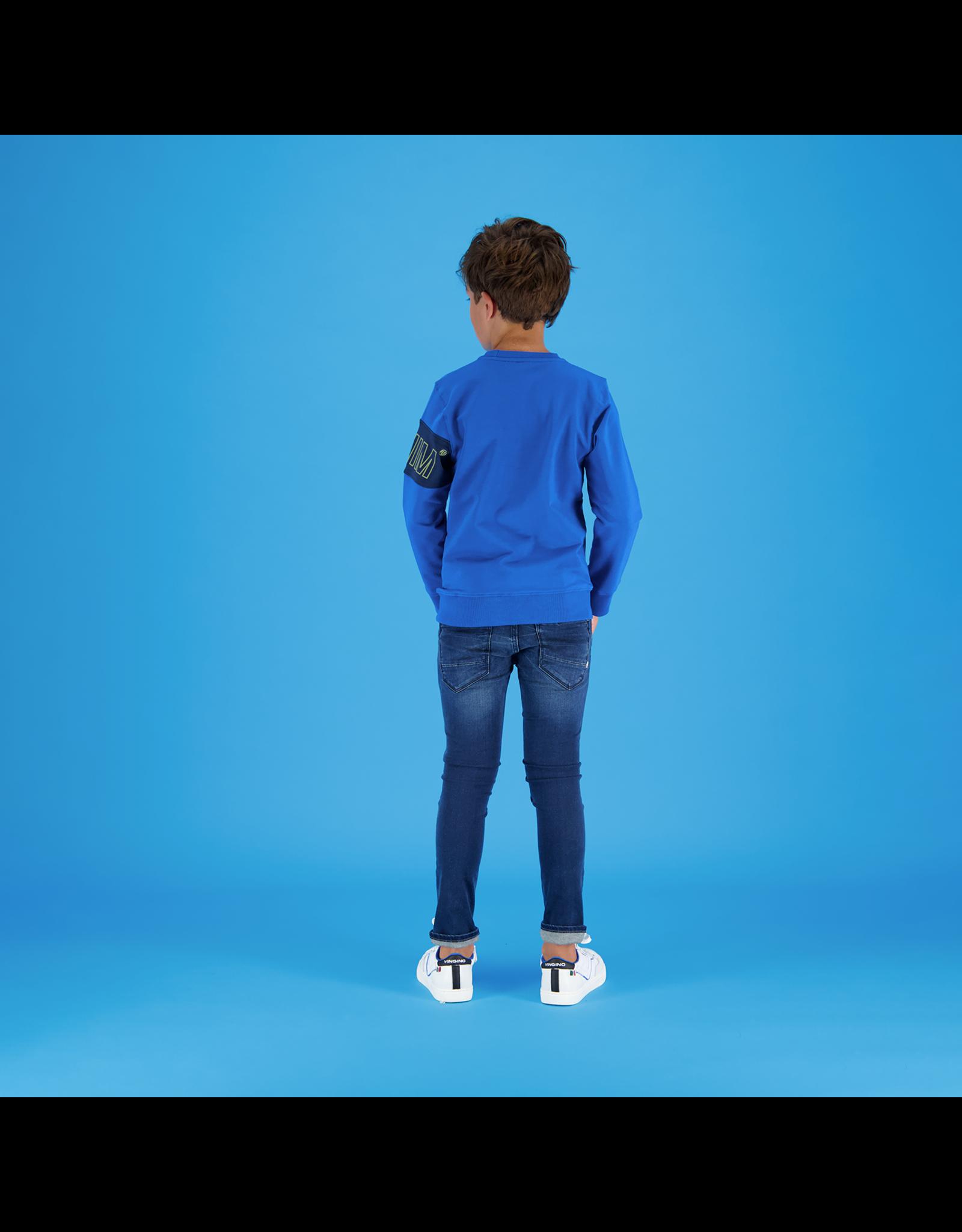 Vingino Vingino jongens sweater Nasulo classic blue