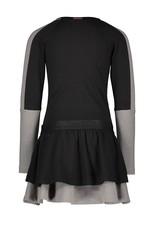 B.Nosy B.Nosy meisjes jurk V blokken Black