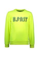 B.Nosy B.Nosy jongens sweater B.Fast Safety Yellow