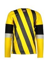 B.Nosy B.Nosy jongens shirt strepen rug Lemon Chrome