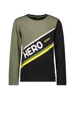 B.Nosy B.Nosy jongens shirt Hero Army Green