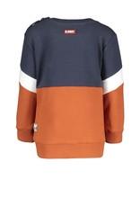 B.Nosy B.Nosy baby jongens sweater Won Cognac