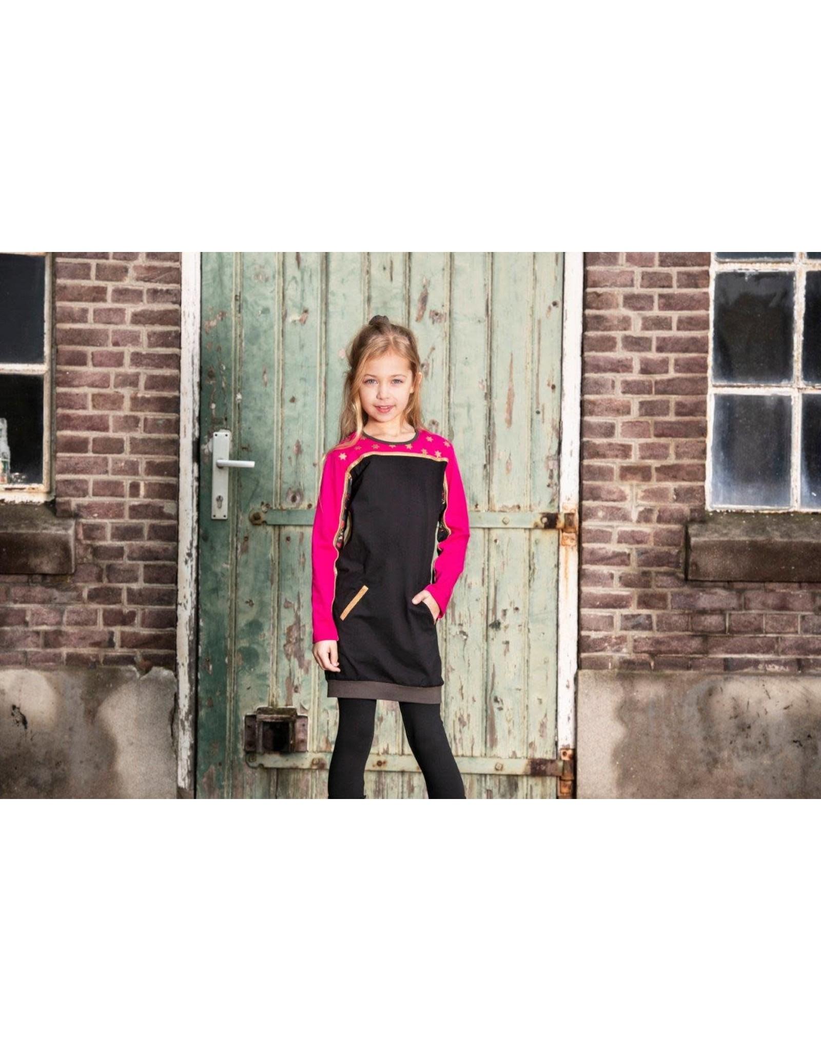 Lovestation meisjes jurk Meerte Pink