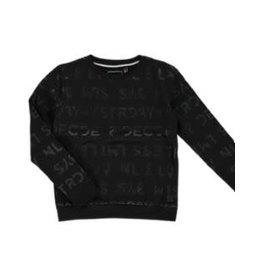 LEVV Levv jongens sweater Kees Black Text