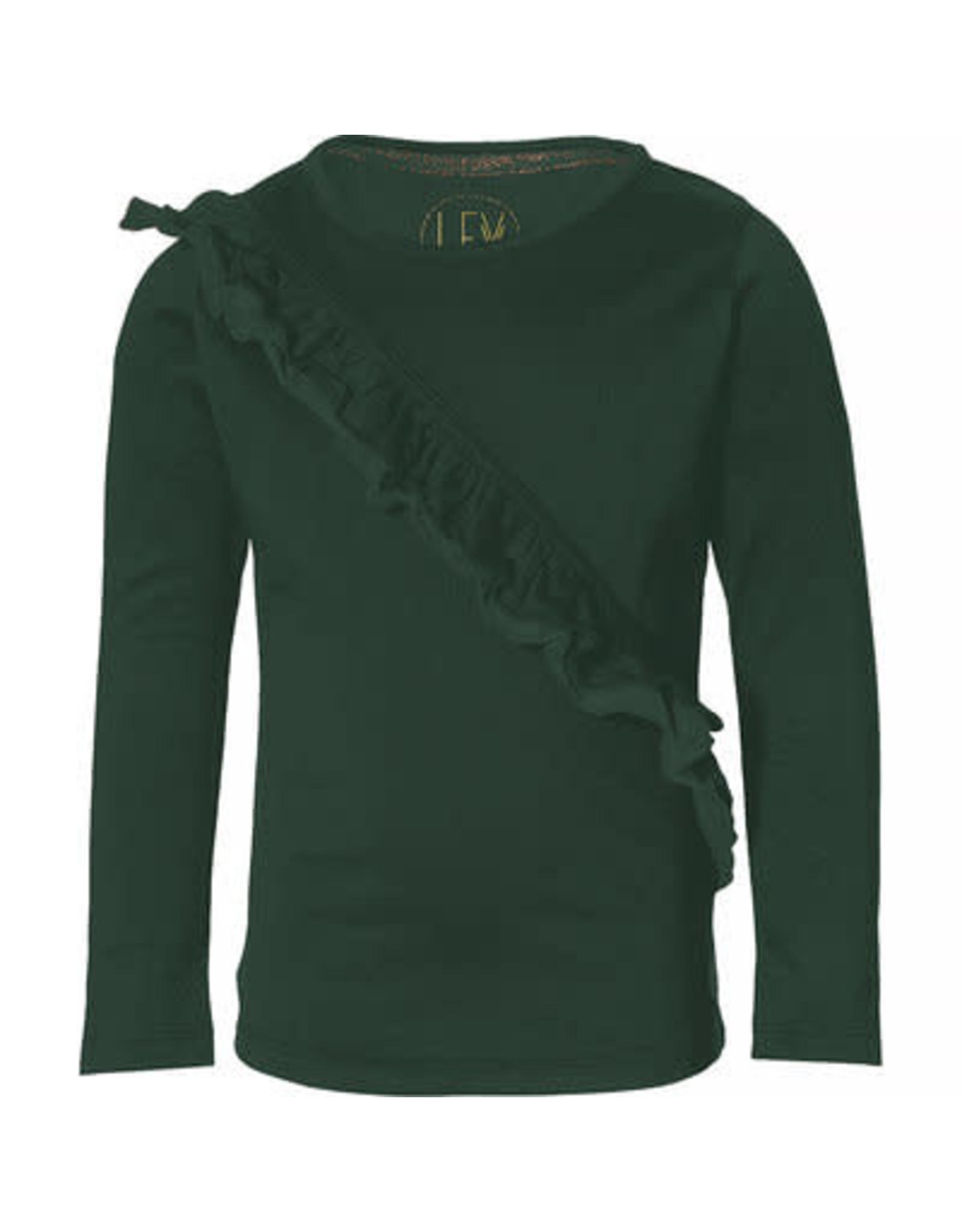LEVV Levv meiden shirt Kaye Dark Green