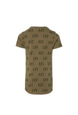 LEVV Levv jongens t-shirt Kai Dusty Green