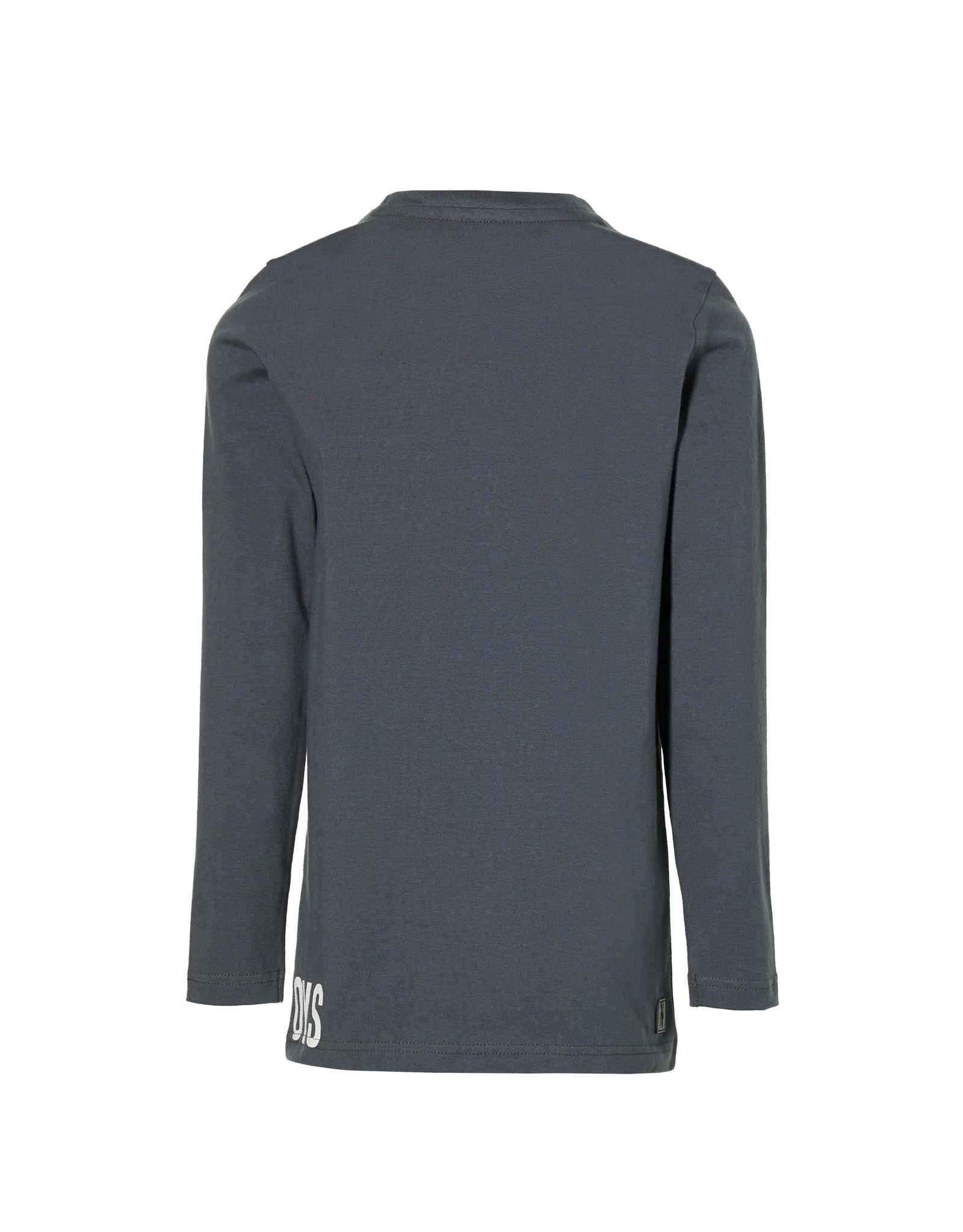 LEVV Levv jongens shirt Karel Faded Grey