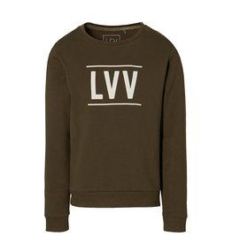 LEVV Levv jongens sweater Kean Olive