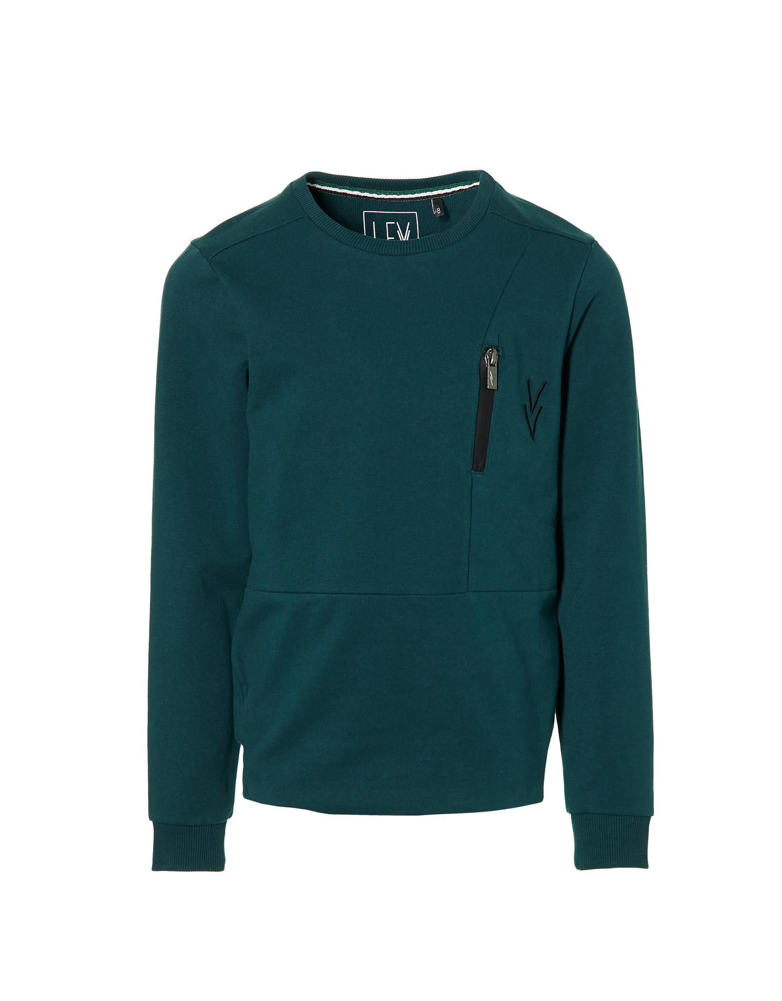 LEVV Levv jongens sweater Kelvin Deep Green