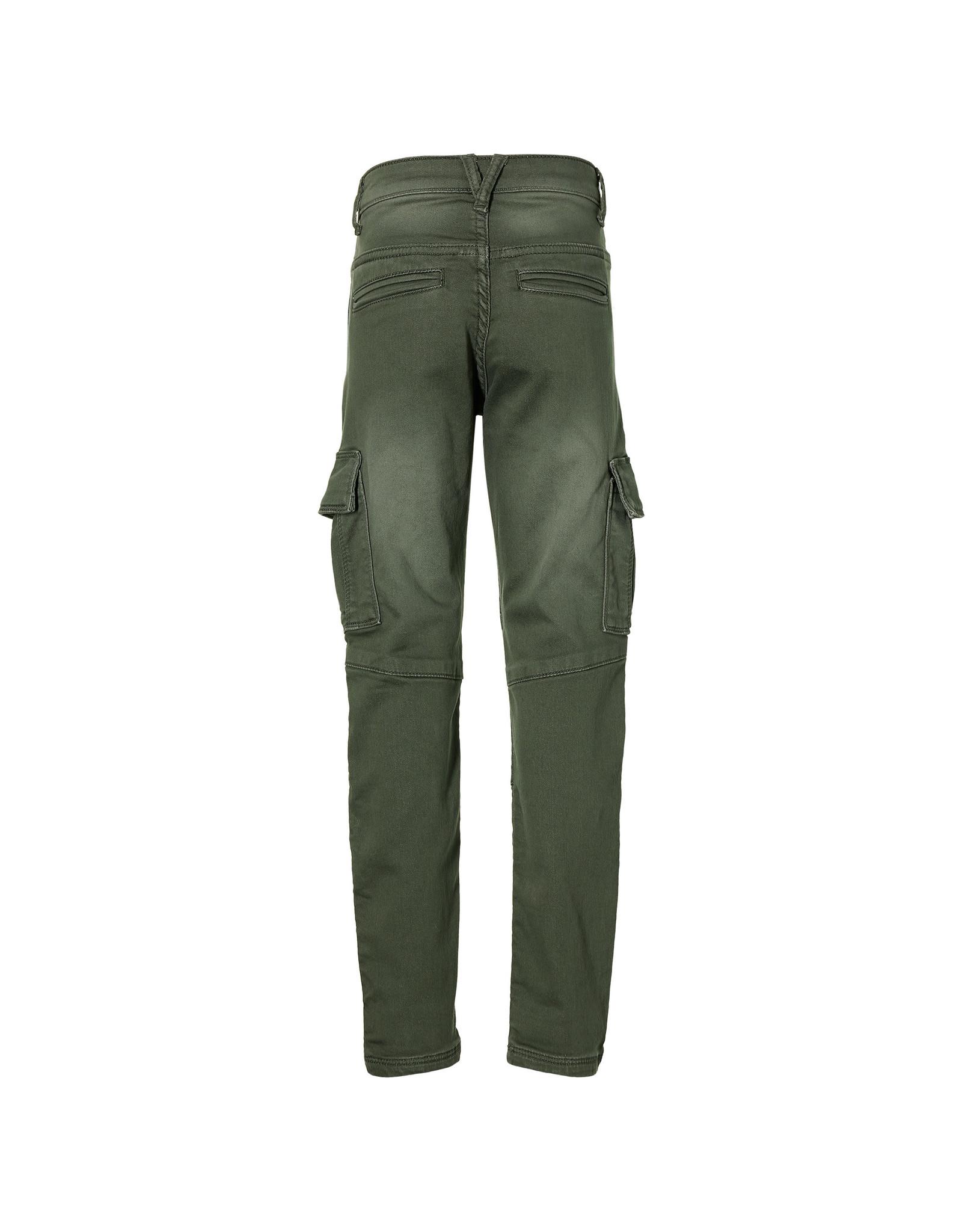 LEVV Levv jongens cargo broek Kick Faded Green