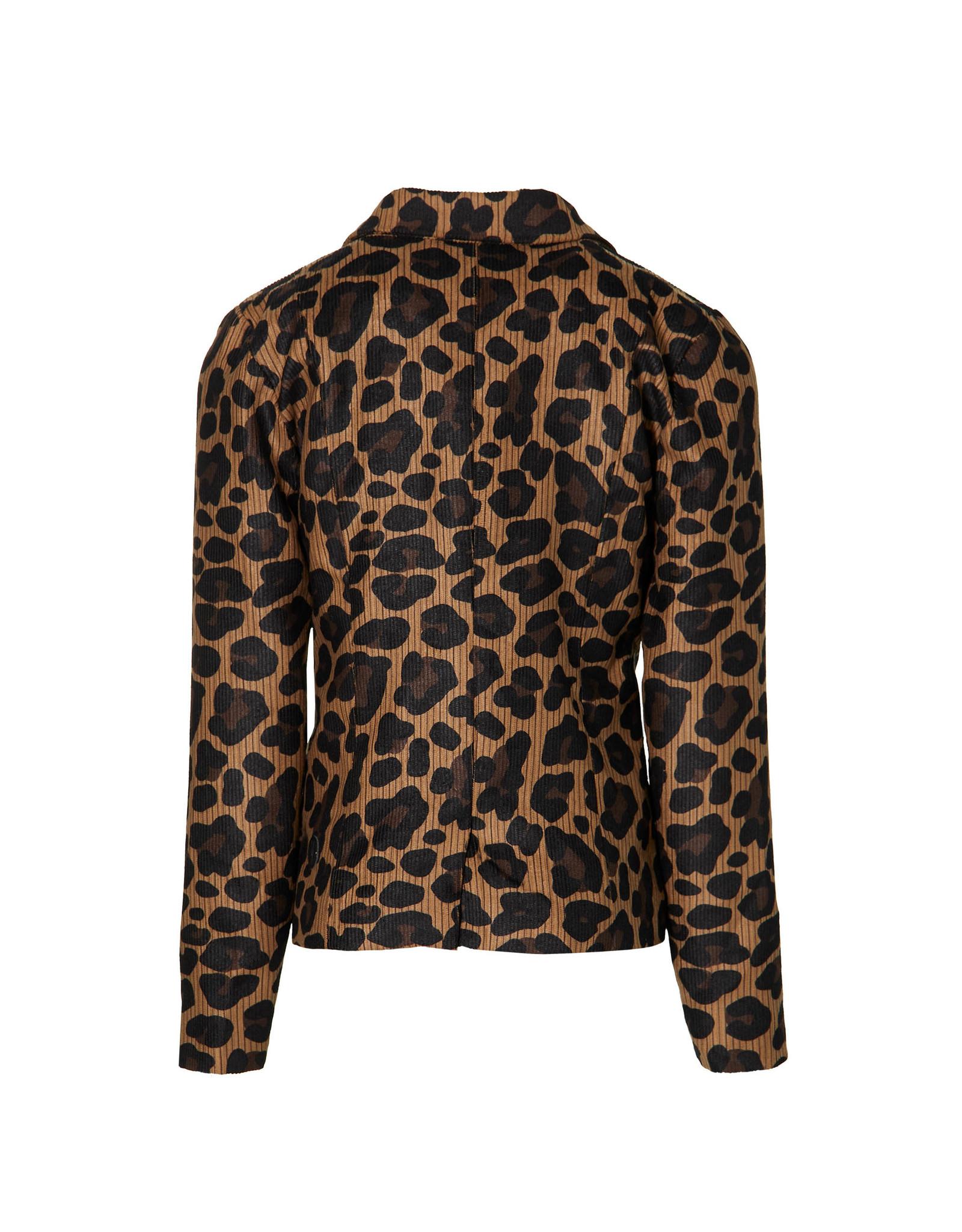 LEVV Levv meiden vest/jasje Kensi Mid Brown Leopard