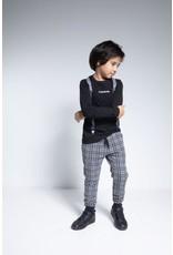 TYGO & vito TYGO & vito jongens shirt met bretels Black W20