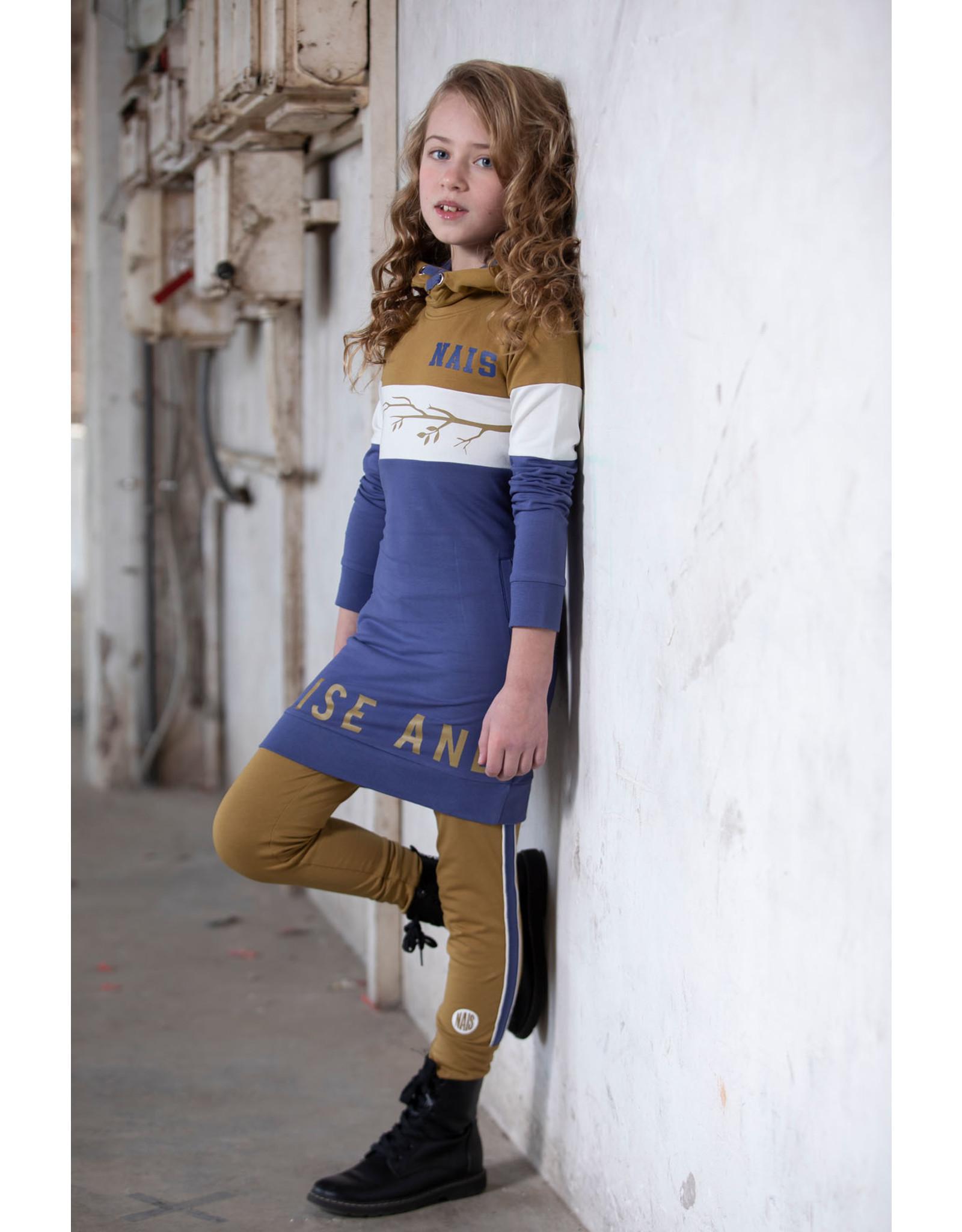 NAIS Nais meisjes jurk Fay Navy