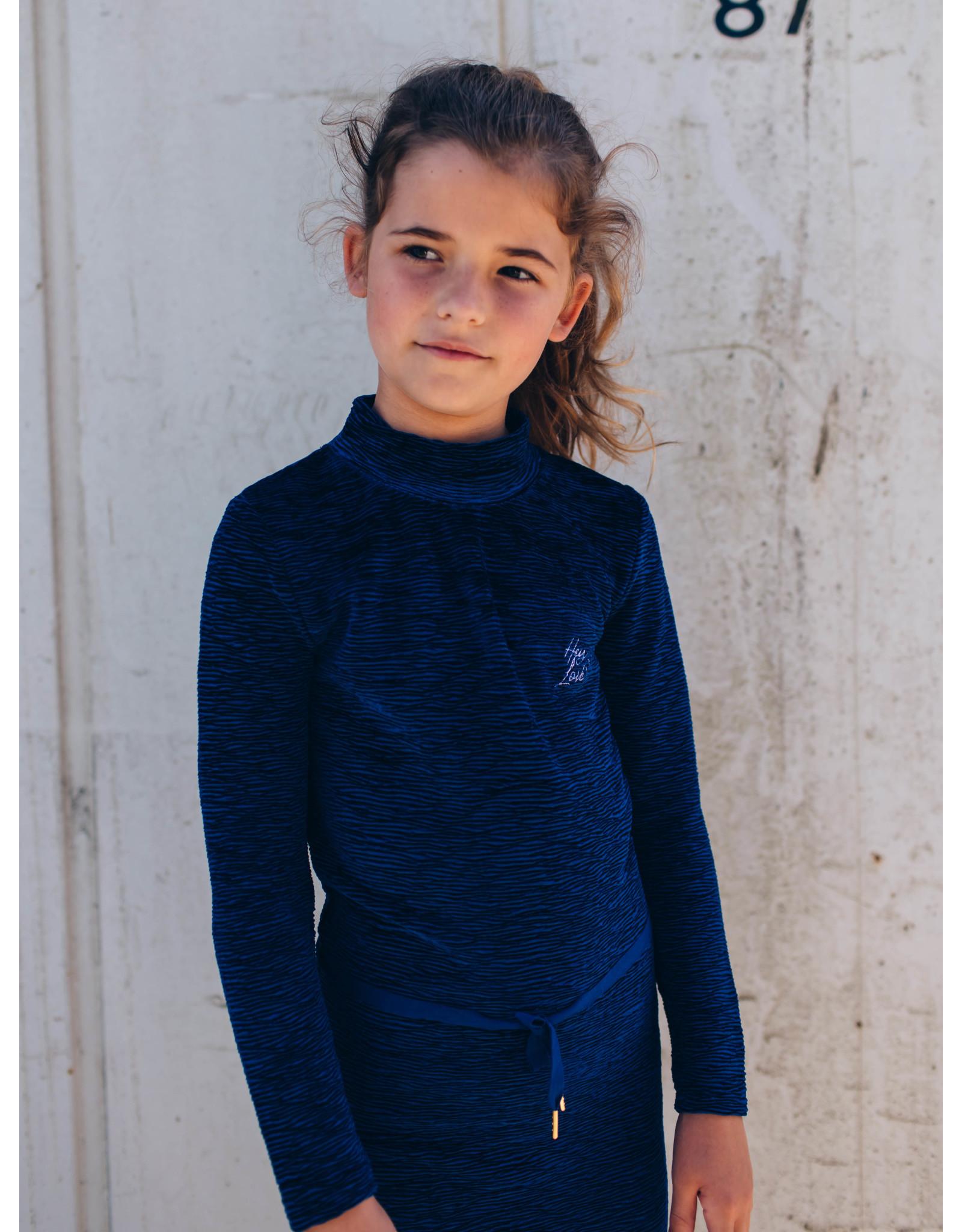 Quapi Quapi meisjes jurk Delissa Dark Blue