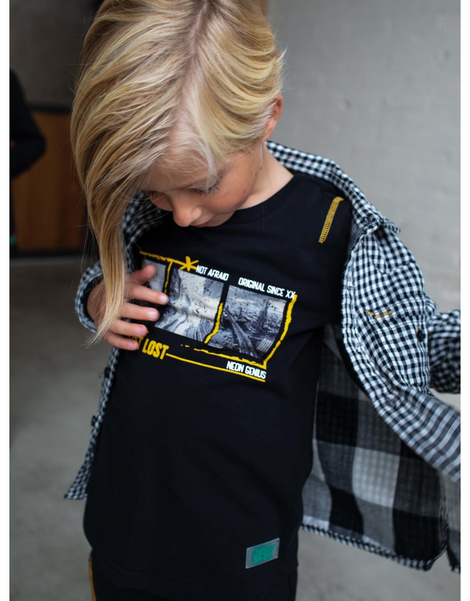 Quapi Quapi jongens shirt Dez Black