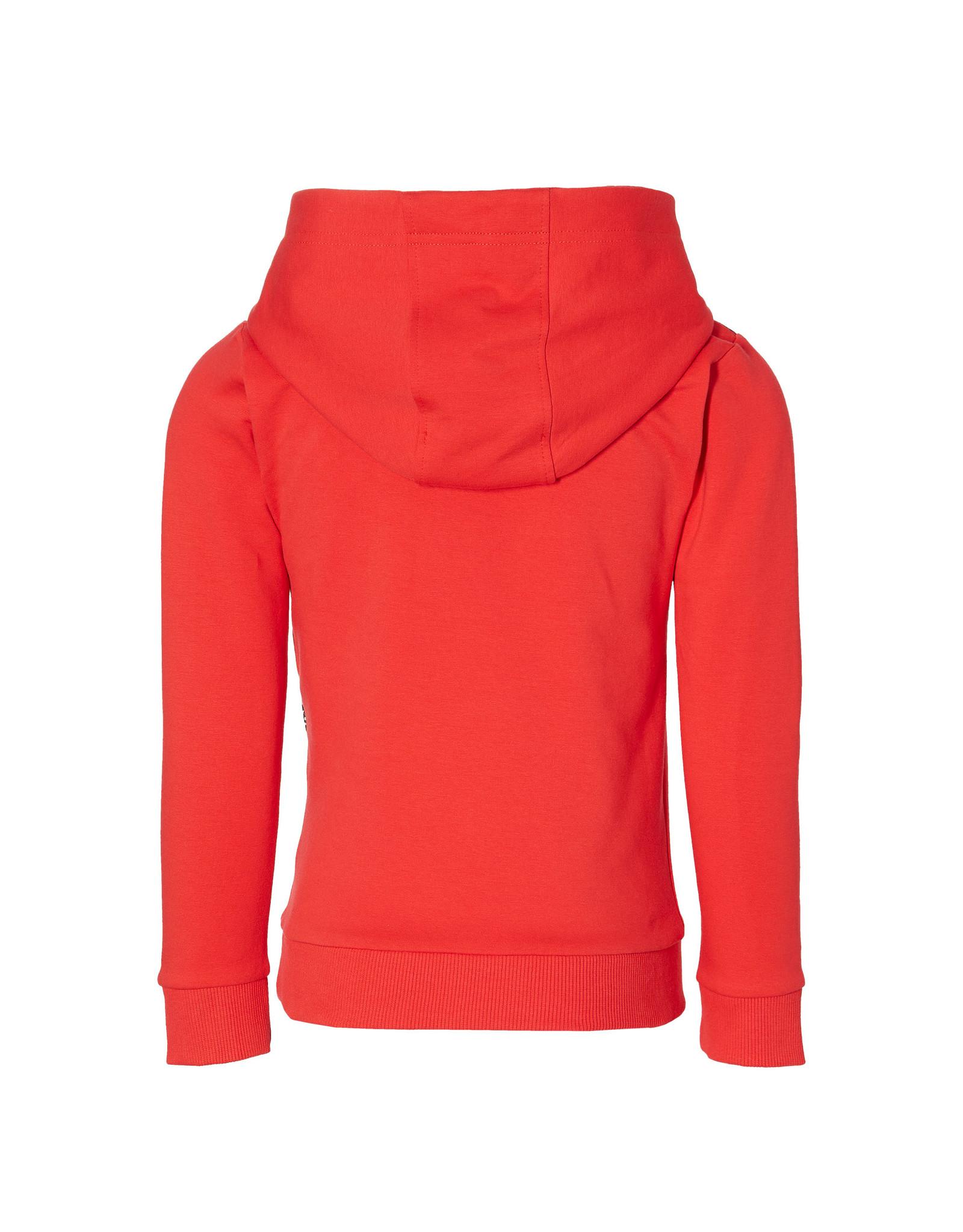 Quapi Quapi jongens hoodie Denny True Red