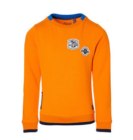 Quapi Quapi jongens sweater Deon Orange Tiger