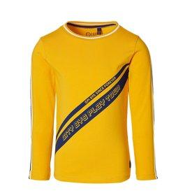 Quapi Quapi jongens shirt Deavon Warm Yellow