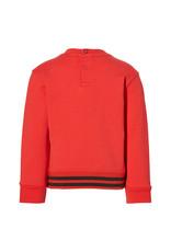 Quapi Quapi baby jongens sweater Enrico True Red